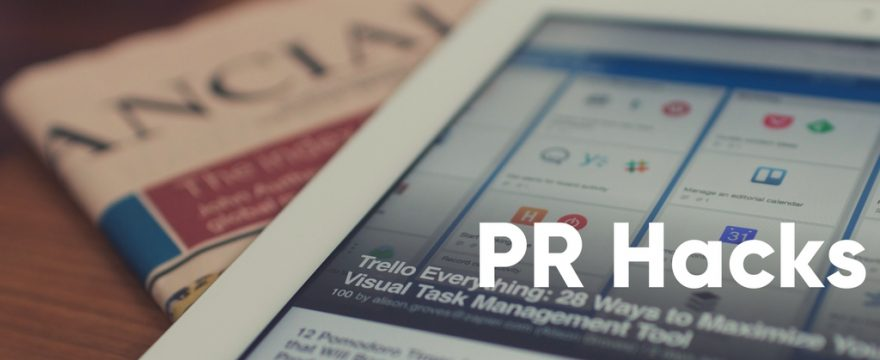 How to choose a PR agency