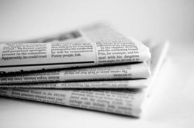 news editor and newspaper