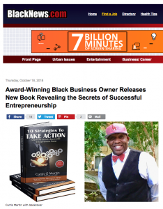 Releasing a book PR example