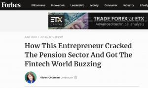 Tech innovation PR example