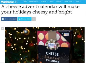 Christmas PR example