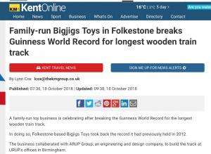 World record PR example