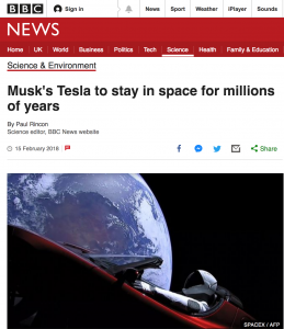 Space PR example