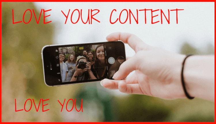 create content you love