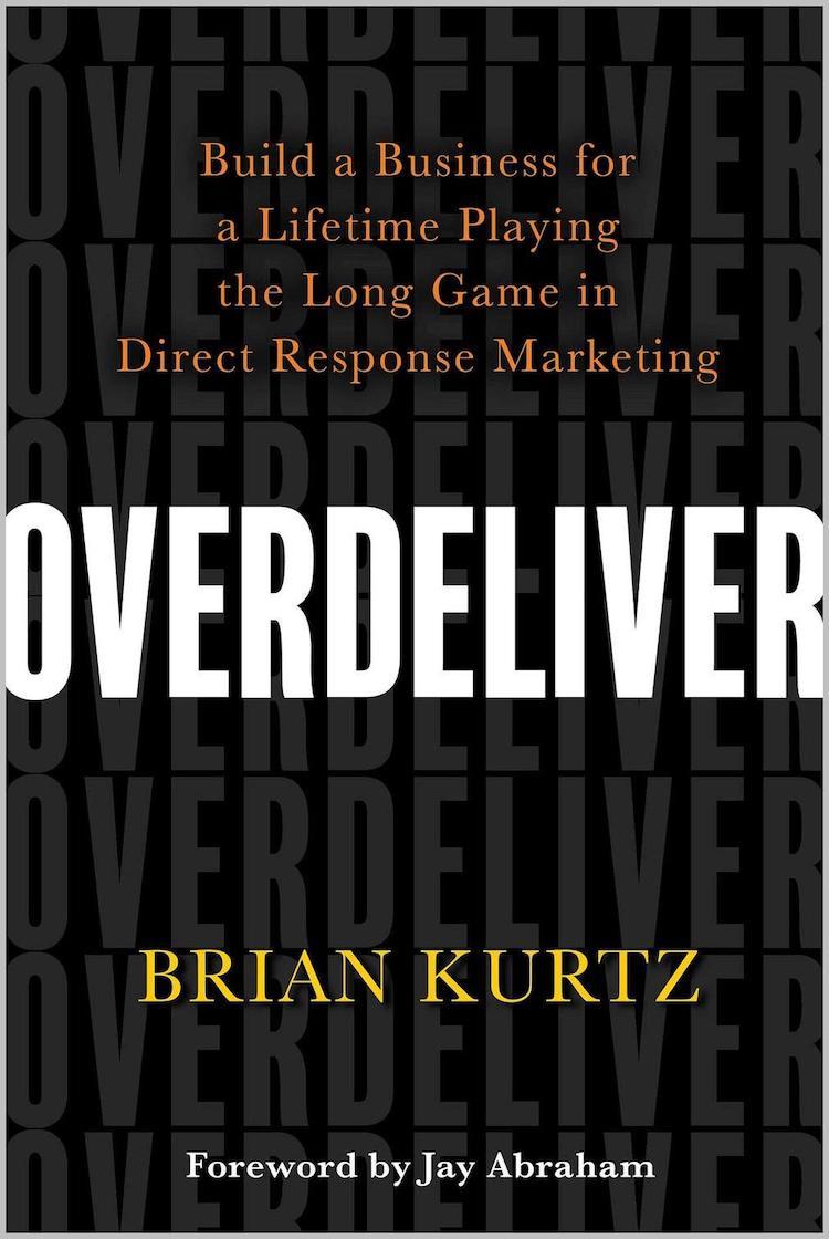 Overdeliver Marketing Book