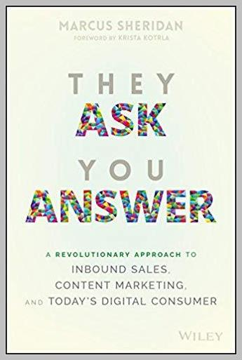 They ask you answer marketing book
