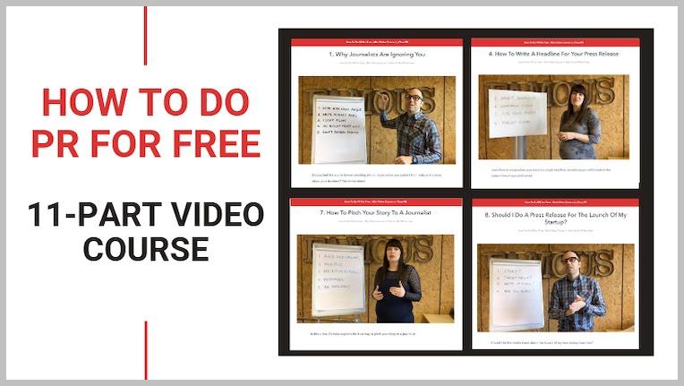 How to Do PR for Free