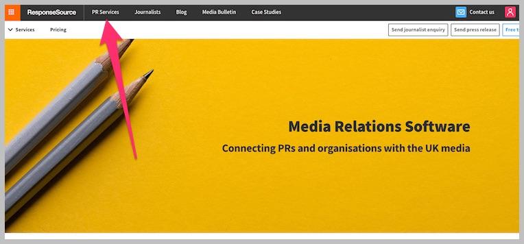 Response Source Homepage
