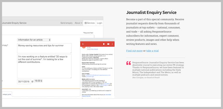 journalist-enquiry-service