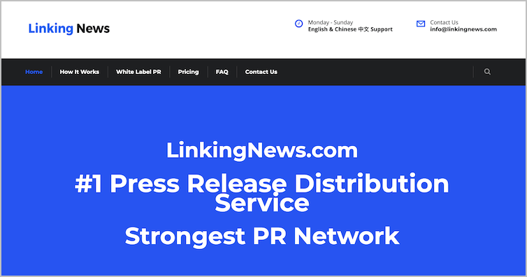 Linking News Press Release Distribution