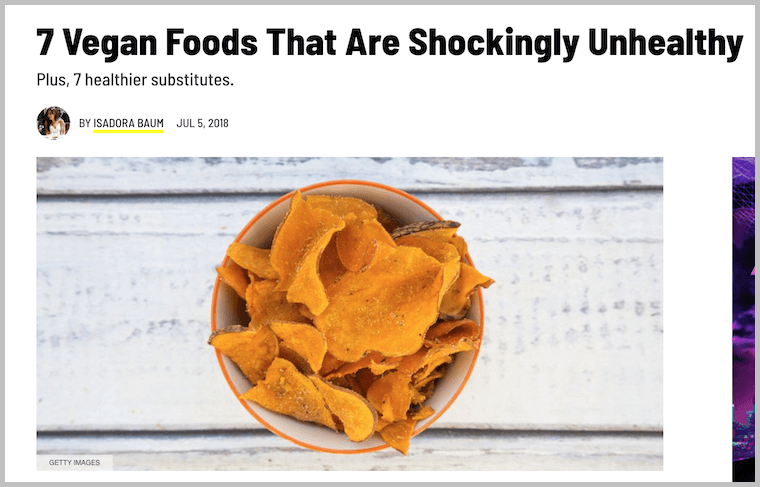 Bad Vegan News