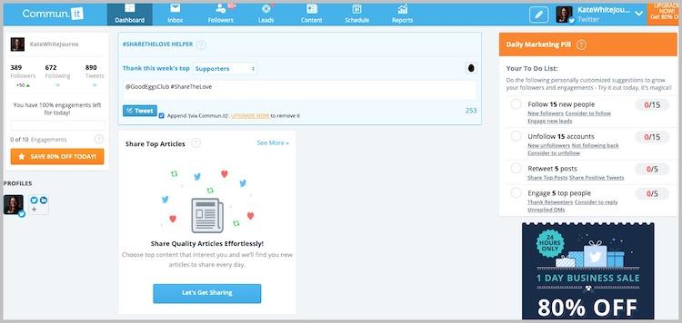 Commun.It social media management tool