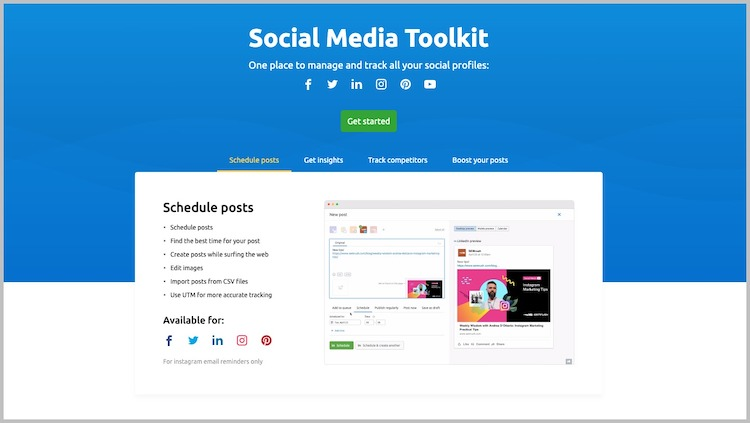 best social media management tools paid