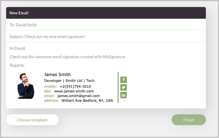 MySignature email signature
