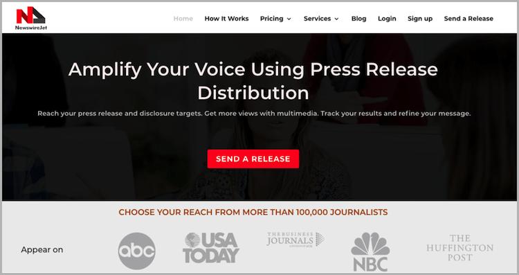 NewswireJet press release distribution agency